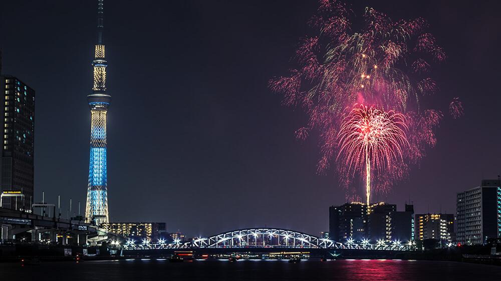 隅田川花火大会 観覧クルーズのイメージ写真