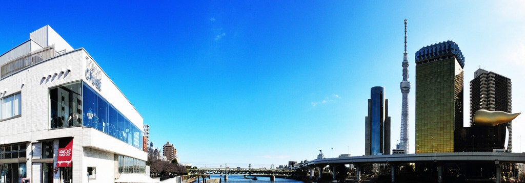 浅草乗船場の外観